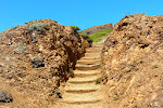 """Wir sind nicht wieder in Utah - das ist nur der Weg nach oben auf die """"Twin Peaks""""-Hügel, von wo aus es eine tolle Aussicht über die Stadt gibt."""