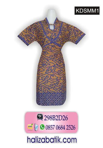 dress batik modern, gambar batik pekalongan, model pakaian batik wanita
