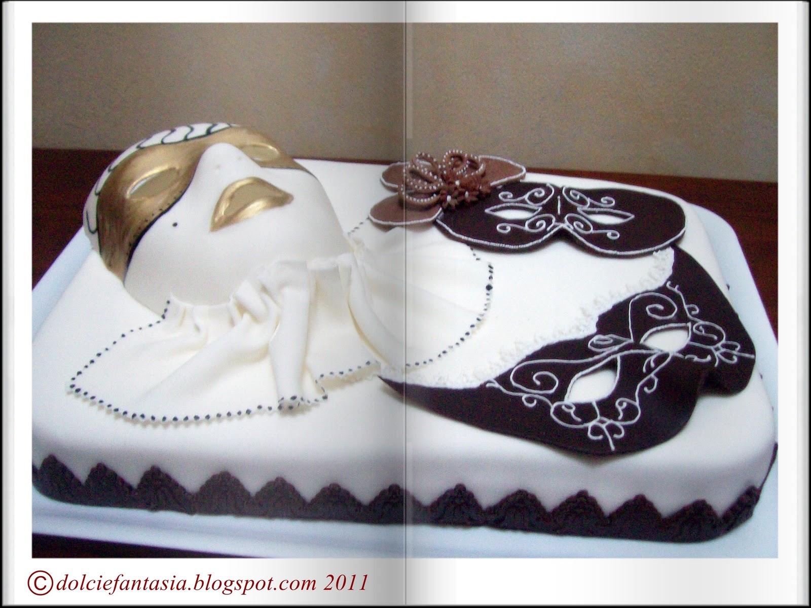 Dolci e fantasia torta di carnevale per jacopo - Decorazioni per torte di carnevale ...