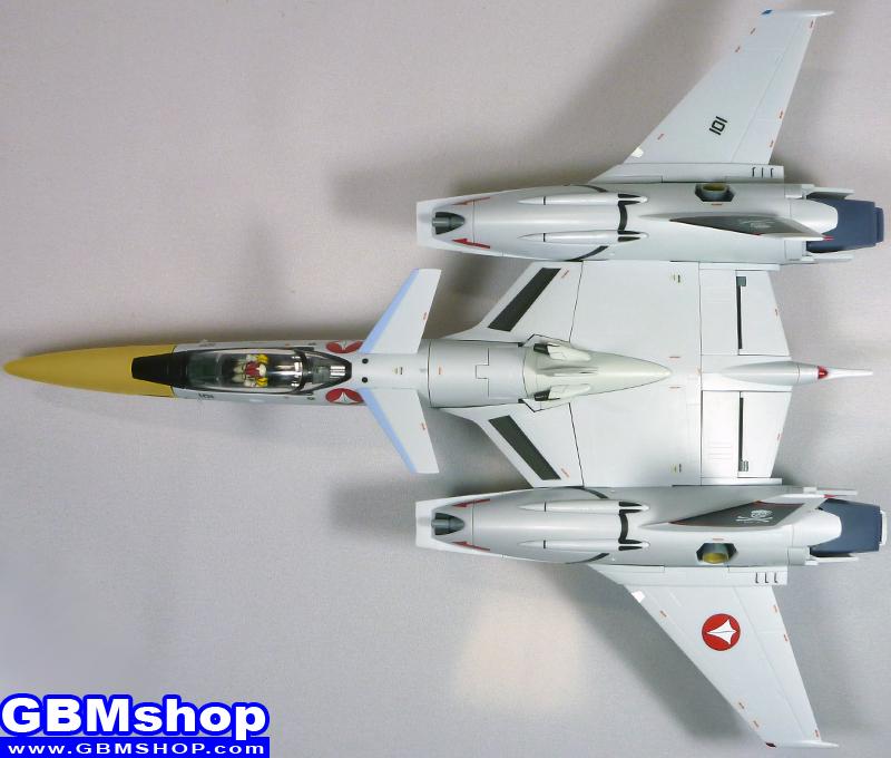 Macross Flashback 2012 VF-4 VF-4G Lightning III Commander Type Hikaru Ichijo Custom Fighter Mode