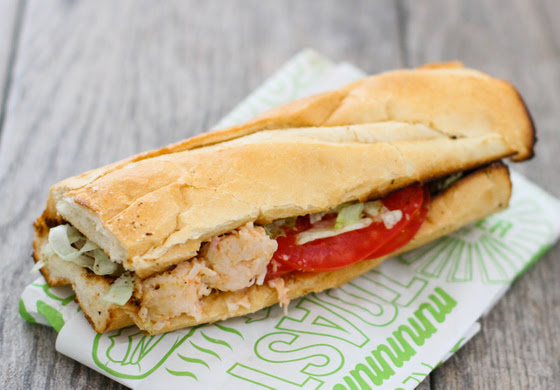 Fish/Seafood Fridays Sandwich Chains Round-Up and a Giveaway