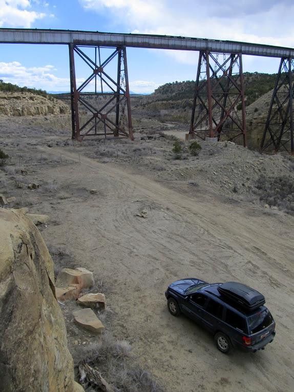 Gordon Creek railroad trestle
