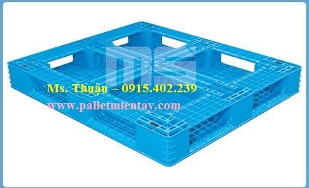 Pallet nhựa nhập khẩu Malaysia N4-4840LA