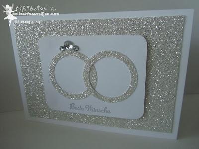 stampin up, wedding band, eheringe, hochzeit, envelope punch board, in worte gefasst