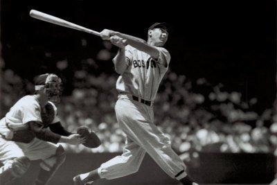 最後の四割打者テッド・ウィリアムズの画像