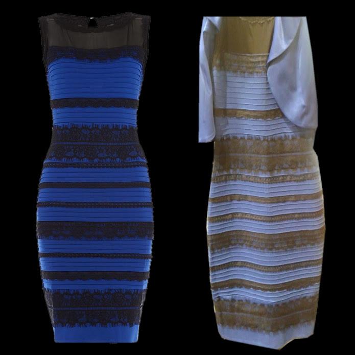 23bd4ba3ed82 ... o bianco e oro  Ecco la spiegazione scientifica ... vestito colore blu  nero