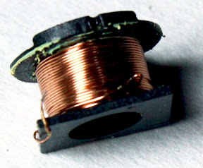 Primary winding from iPhone charger flyback transformer