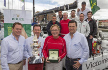 J/24 sailor Sean Kirkjian- tactician on VICTOIRE- winner of 2013 Sydney Hobart Race
