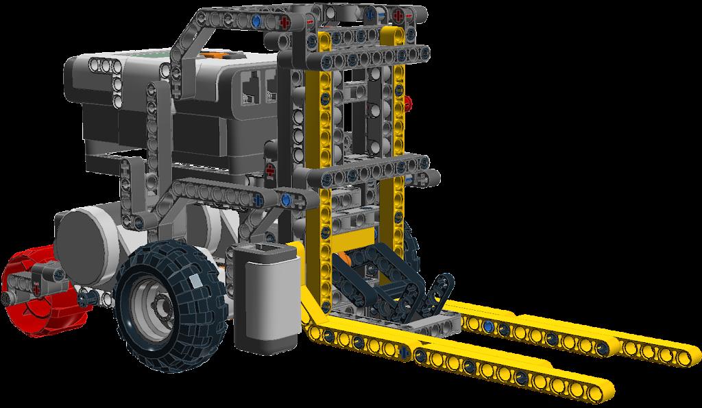 Lego Mindstorms Nxt Forklift Truck