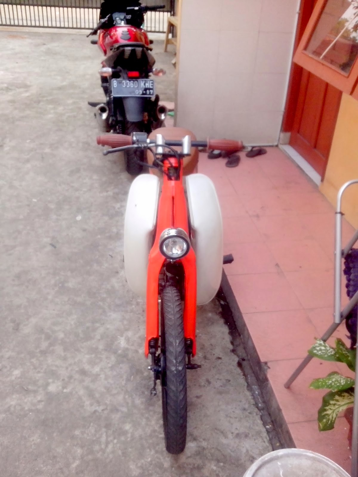 Honda Astrea Grand Modifikasi C70
