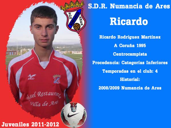 ADR Numancia de Ares. Xuvenís 2011-2012. RICARDO.