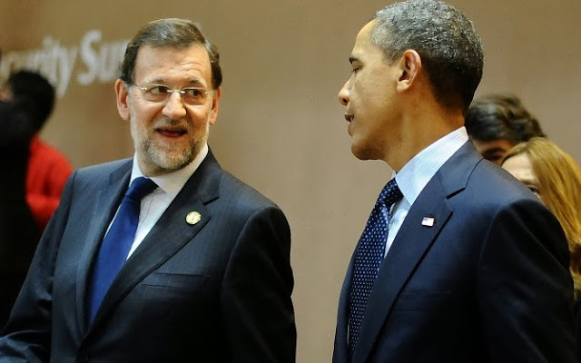 Obama is expected to discuss NSA scandal with Spanish president