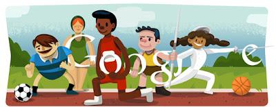Google Doodle Eröffnungsfeier 2012