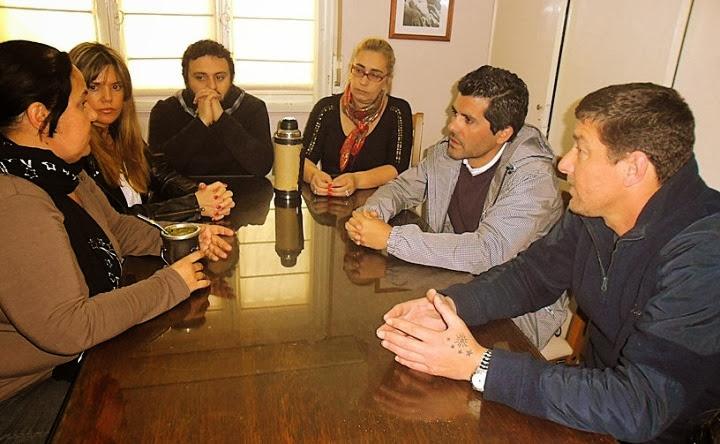 Comisión de Trabajo del Honorable Concejo Deliberante que preside el Concejal Martín Dominguez Unión Peronista