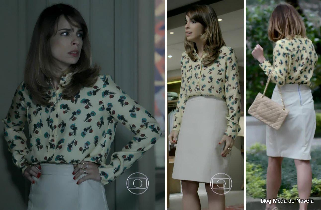 moda da novela Império - look da Danielle dia 2 de setembro