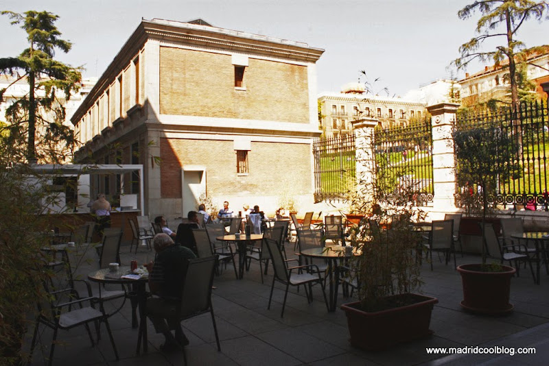 MADRID COOL BLOG terraza café prado desayunos meriendas