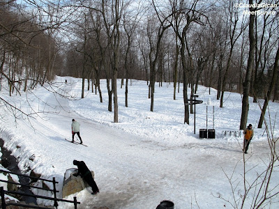 Montreal. Parcul/Park Mount Royal.