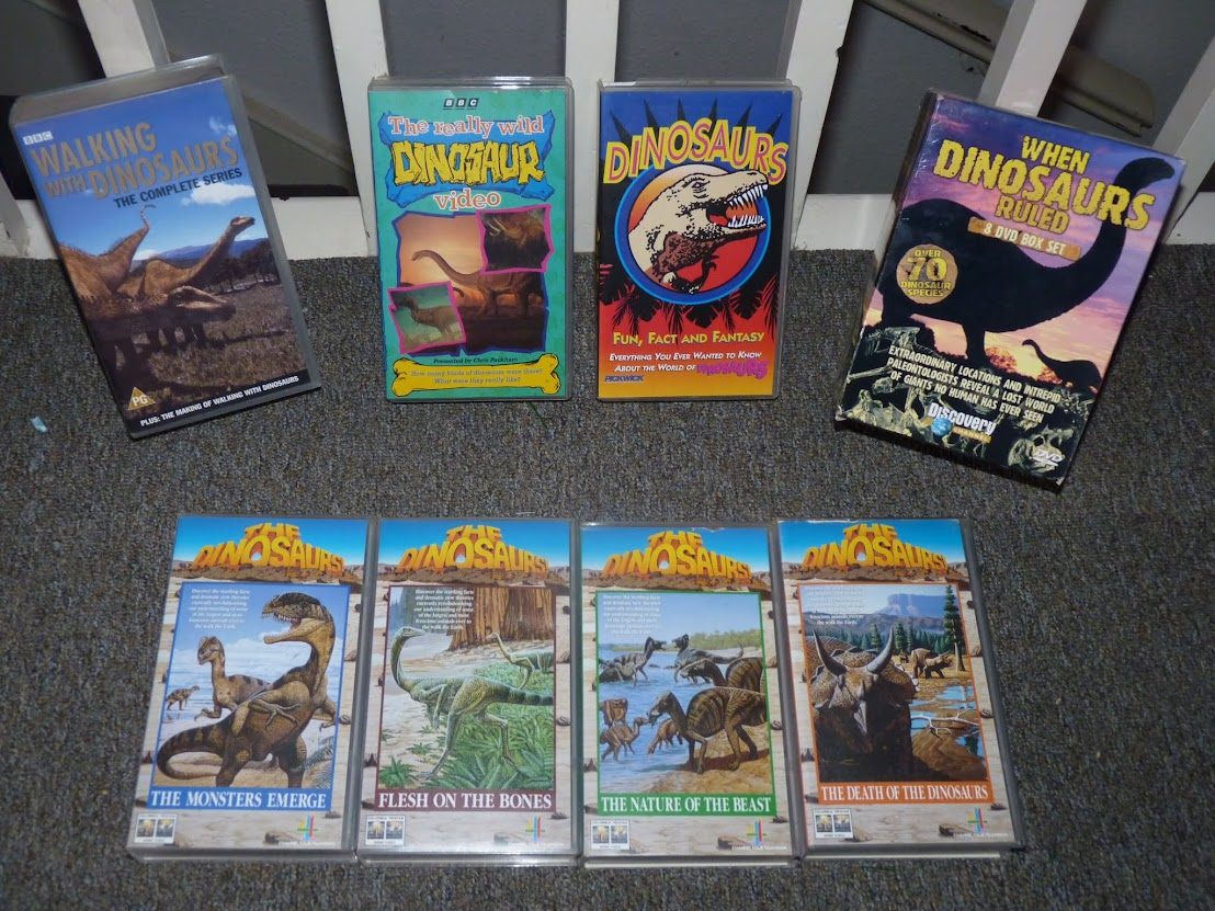 My Old Dinosaur VHS tapes