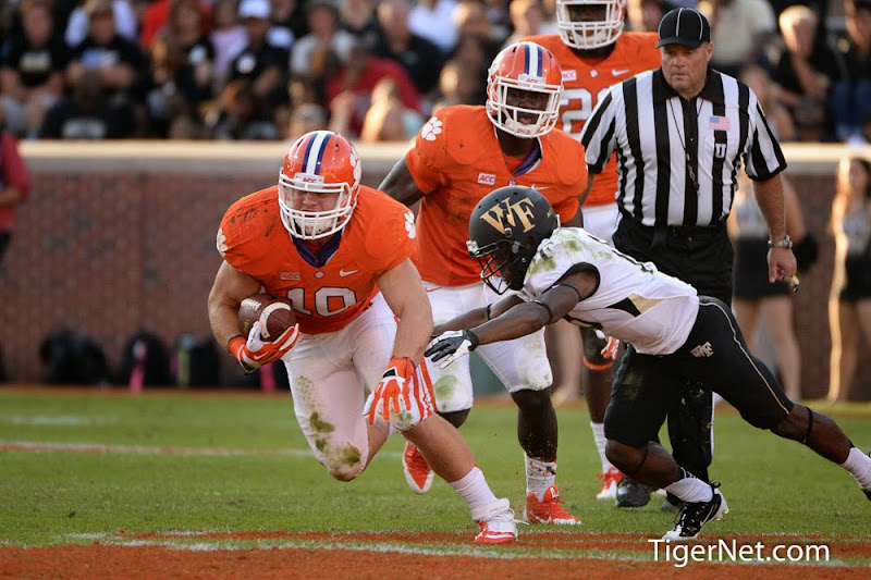 Wake Forest vs. Clemson Photos - 2013, Ben Boulware, Football, Wake Forest