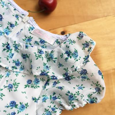 Vintage and Floral. Đầm Roem Girl, xuất dư Hàn Quốc , made in vietnam.