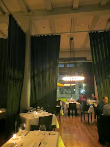 The classy and romantic atmosphere at BlueHour Portland in the Pearl District
