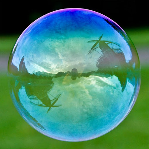 Windmills, Copenhague, Dinamarca - The World in a Bubble