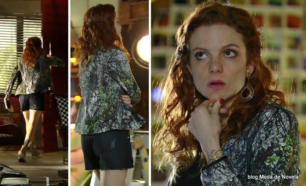moda da novela Em Família - look da Vanessa dia 10 de junho
