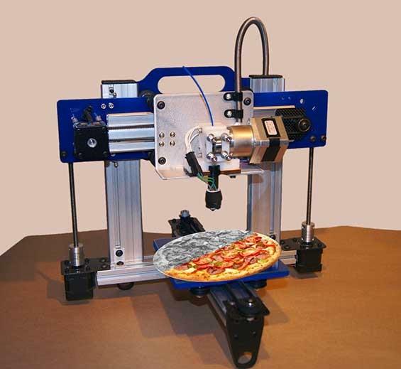 gambar mesin printer 3d model makanan