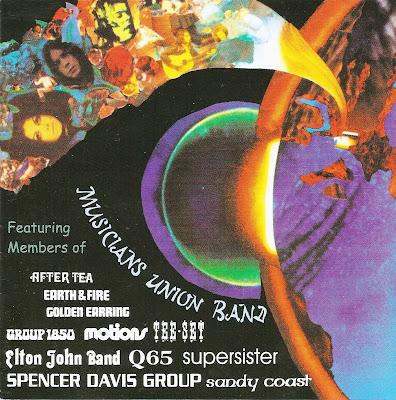 Musicians Union Band ~ 1971 ~ Musicians Union Band