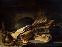 LIEVENS, Jan Still Life (Vanity), c.1620-30