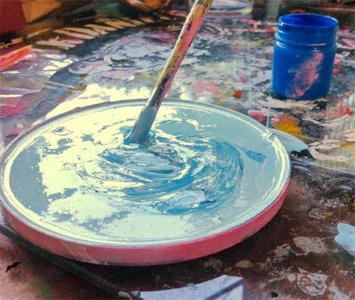 DIY - customização de garrafas - como pintar garrafas decorativas