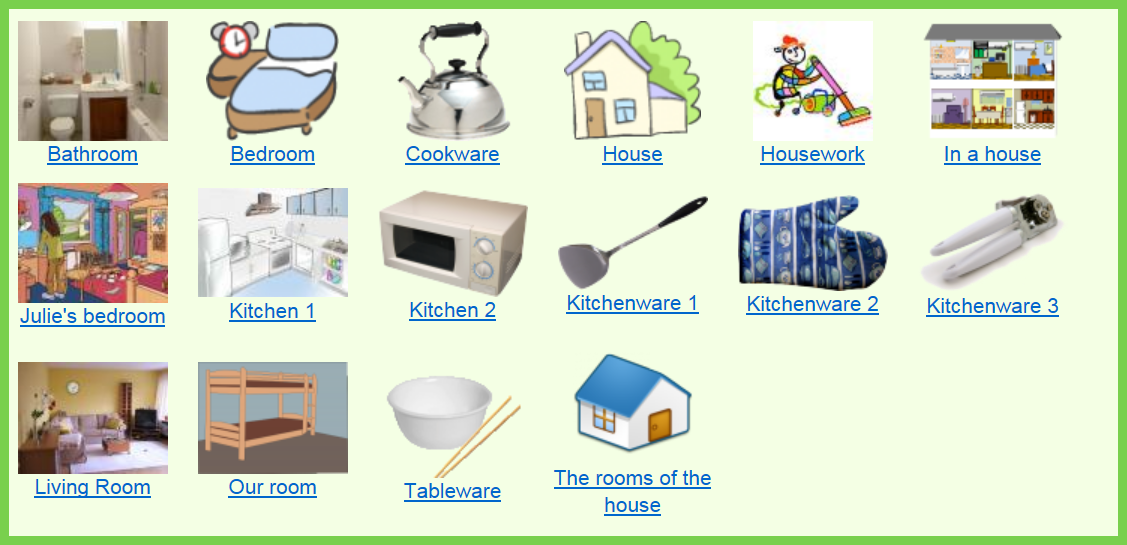House and home vocabulary and activities english in vancouver