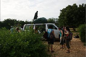 Llegada al Campement de Faoye