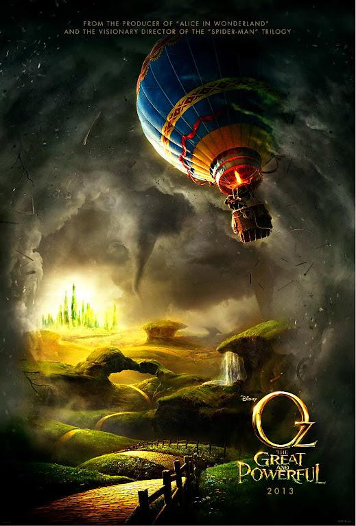 Plakat filmu: Oz Wielki i Potężny