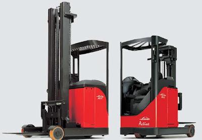 Linde R14 series reach truck 1.4 tấn