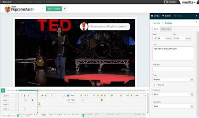 Mozilla lanza Popcorn Maker 1.0, un singular editor de vídeo online
