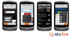 Skyfire 4.0 application for android with the latest enhancements