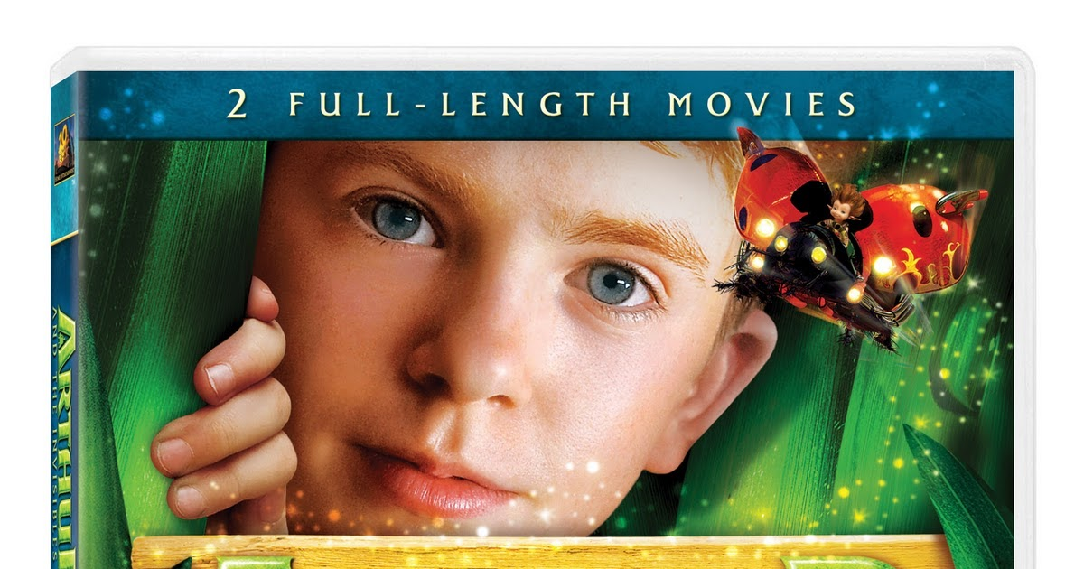 Trying To Stay Calm Arthur The Invisibles 2 3 The New Minimoy Adventures Dvd Giveaway