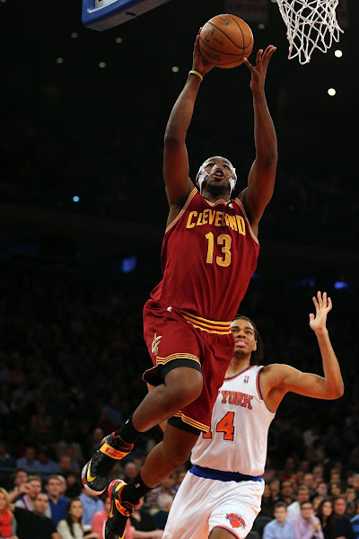 Wearing Brons Tristan Thompson8217s ZS6 Cleveland Cavaliers PEs