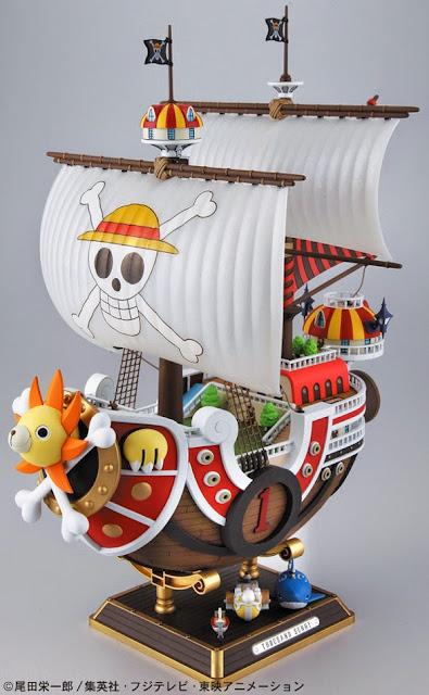 Hình ảnh sinh động của Chiến thuyền One Piece Thousand Sunny
