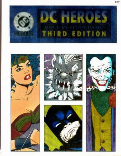 1993 Mayfair Games Dc Heroes Role Playing Game Third Edition Wonder Woman Entry