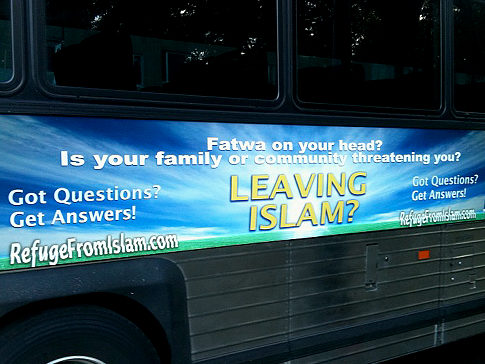 anti-Islam bus ads