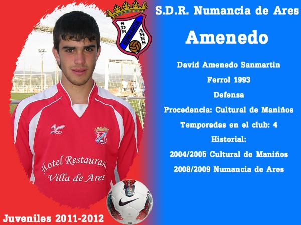 ADR Numancia de Ares. Xuvenís 2011-2012. AMENEDO.