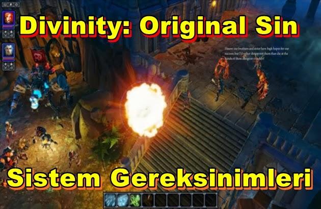 Divinity: Original Sin PC Sistem Gereksinimleri