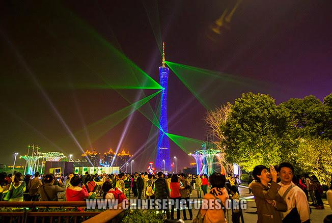 Guangzhou Tower Night Photo 2