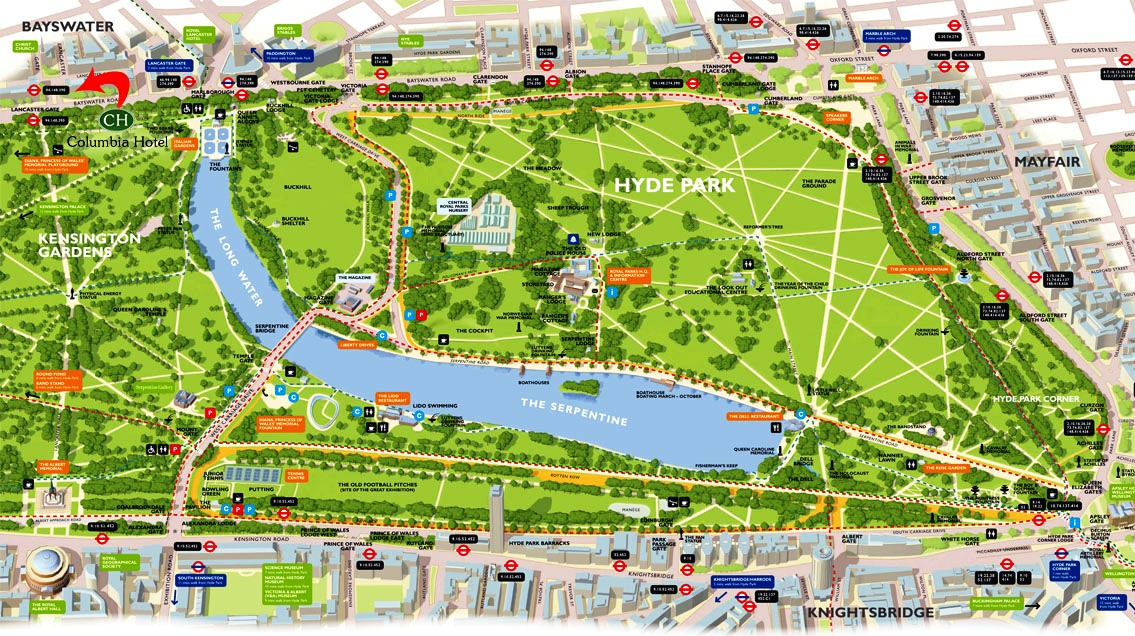 I viaggi del goloso londra zone istituzionali parchi - Londra punti d interesse ...