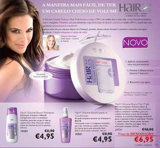 Revele a beleza do seu cabelo com a Oriflame