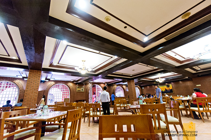 Breakfast Hall at Laoag's Fort Ilocandia