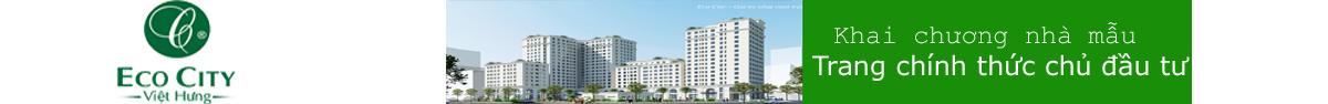 Chung Cư Eco City Việt Hưng Long Biên - LH: Trực Tiếp Chủ Đầu Tư