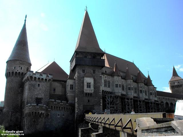 Castele din Romania: Hunedoara, Castelul Corvinilor